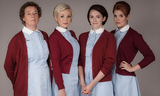 Nurse Phyllis, Trixie, Barbara and Patsy