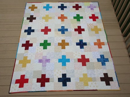 2016-07-06 Low Volume Plus quilt