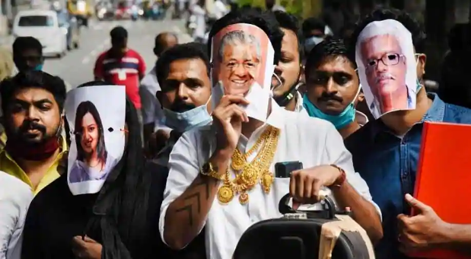 Kerala gold smuggling case Swapna suresh nabbed in Bengaluru KPP