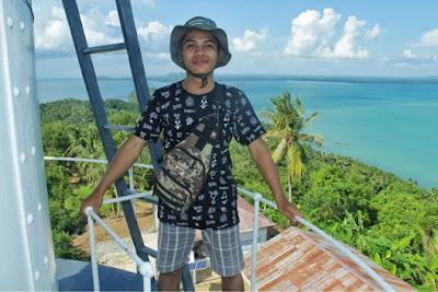 Menara suar tanjung kunyit, Lontar, Kotabaru