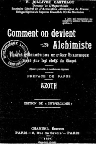 Cover of Acoth's Book Comment on Devient (Preface de Papus,1897,in French)