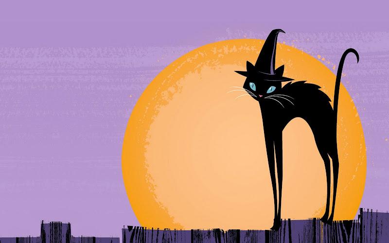 Halloween Black Cat, Halloween