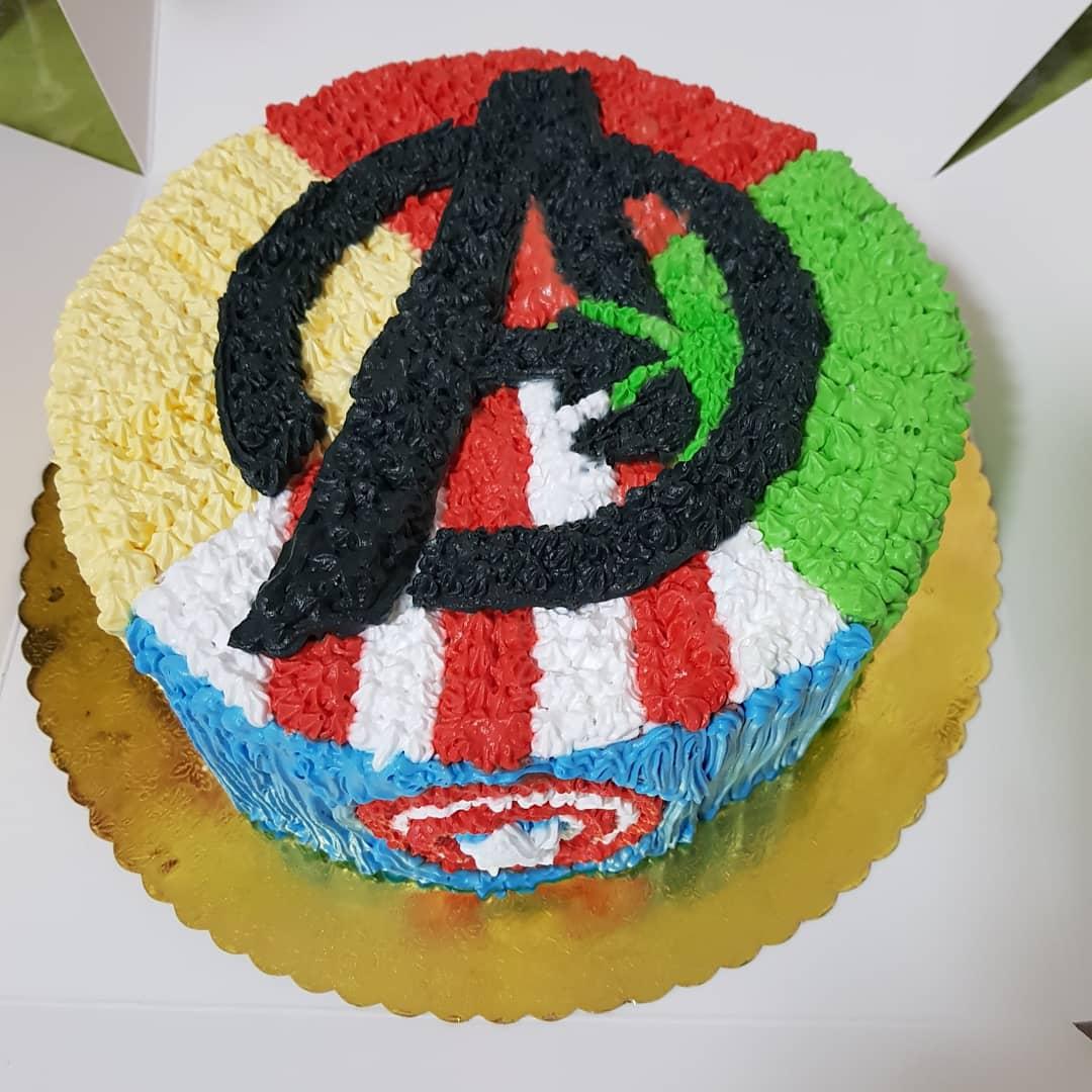 Superb Welcome To Ds Sweetz Treats Sg Marvel Birthday Cake Funny Birthday Cards Online Elaedamsfinfo