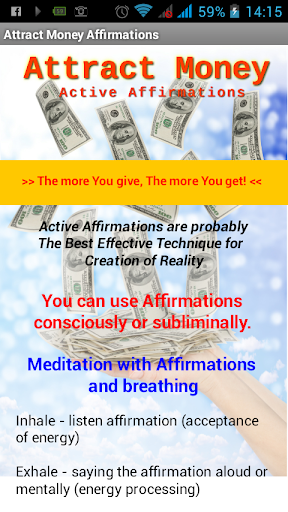 Attract Money Affirmations - Law of Attraction by