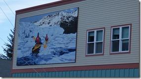 Mural in Seward Alaska