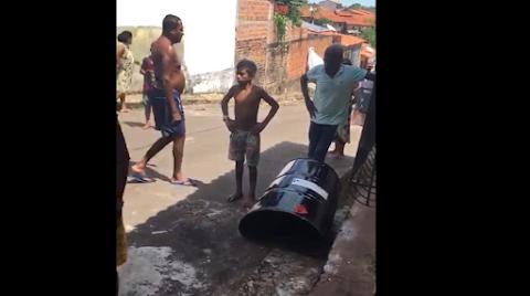 Homem morre após tentar abrir tonel de combustível com lixadeira em São Luís Gonzaga-MA