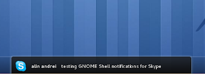 Skype Notifications GNOME3