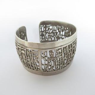 800 Silver Egyptian Cuff