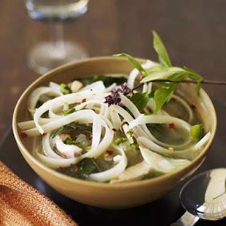 Thai Chicken-Basil Soup