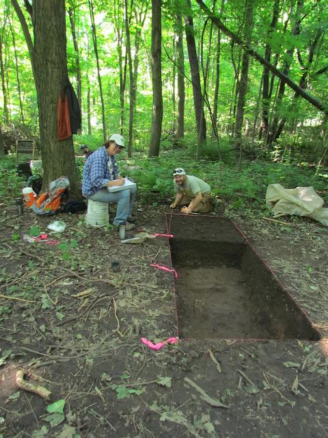 Apple Island Archaeology, early & 2014 - june%2B2014%2B027.JPG
