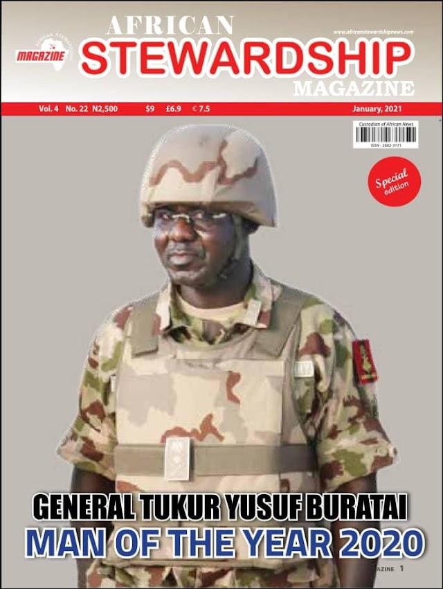 Buratai As 2020 African Steward  Man Of The Year ~Omonaijablog