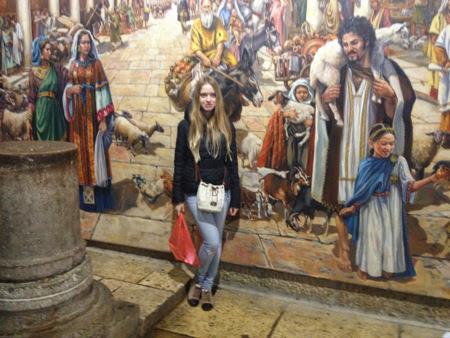 Экскурсия в Иерусалим Виктории и Дмитрия с гидом Светланой Фиалковой
