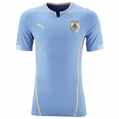 Jual Jersey Uruguay Piala Dunia 2014