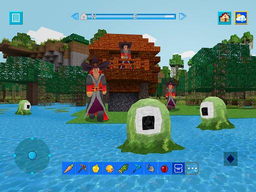 Terra Craft: Build Your Dream Block World modavailable screenshots 14