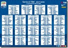 Calendario serie A 2017-2018