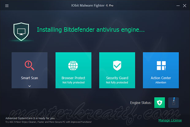 IObit Malware Fighter Pro 4