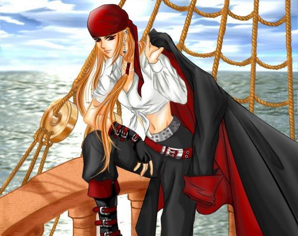 Girl Pirate On The Ship, Magick Warriors 5