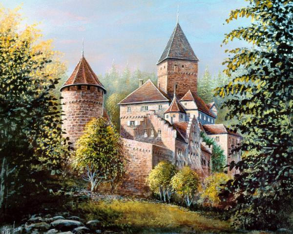 Castle Of Princess, Magical Landscapes 1