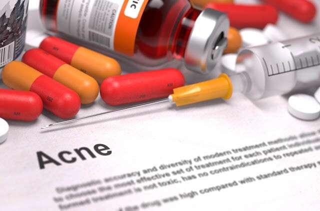 الدواء المضاد لحب الشباب