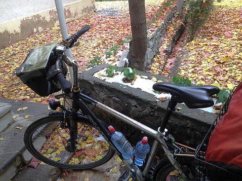 November-Stimmung rund um das Hotel Gachsar, Chalus-Road, Iran