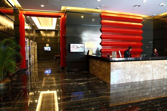 Lobby area of Cititel Express Penang