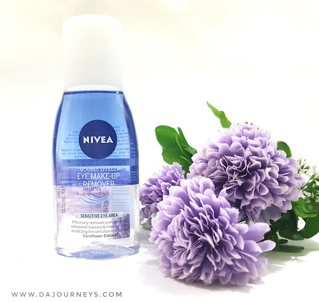 [Review] Nivea Double Effect Eye Makeup Remover