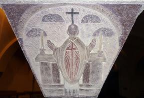 Messe dans les catacombes