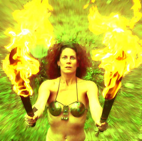 Two Flames, Celtic And Druids