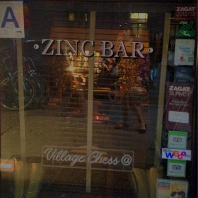 Bridget Eileen at the Zinc Bar in the Village of Manhattan