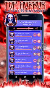 Top Horror Latest Ringtones screenshot 3