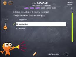 iTooch Elementary School Grammar Test