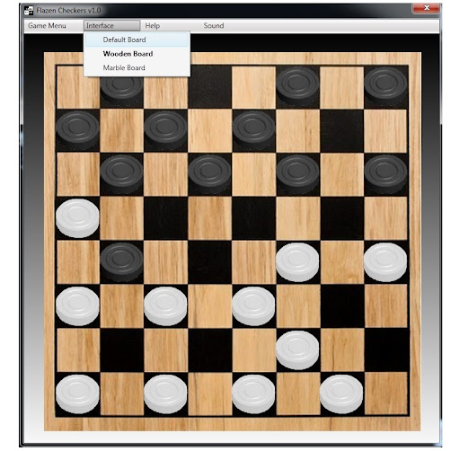 Flazen Checkers 1.0