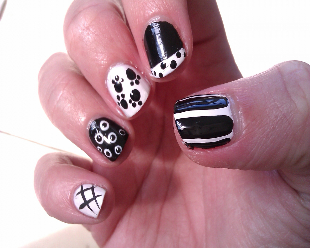 Nail Art Designs For Short Nails Images 2017