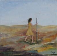 'Einzeln',Öl auf Leinwand,30x30,2003, verkauft