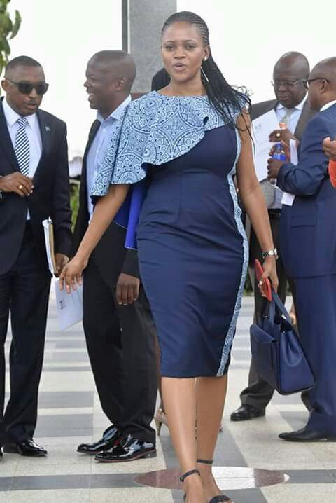 Beautiful Shweshwe Dresses Designs For Ladies
