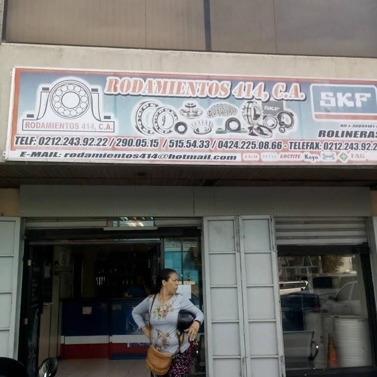 Rodamientos 414 C.A - Tienda De Repuestos Para Carro en Caracas