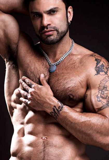 Incredible Hairy Chest Men Photos Set 9