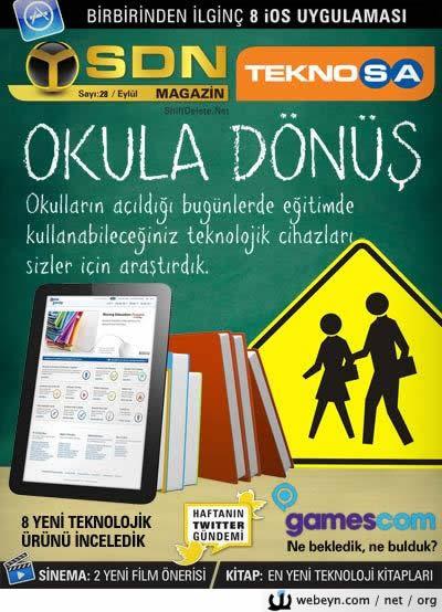 SDN Teknosa Magazin sayı 28