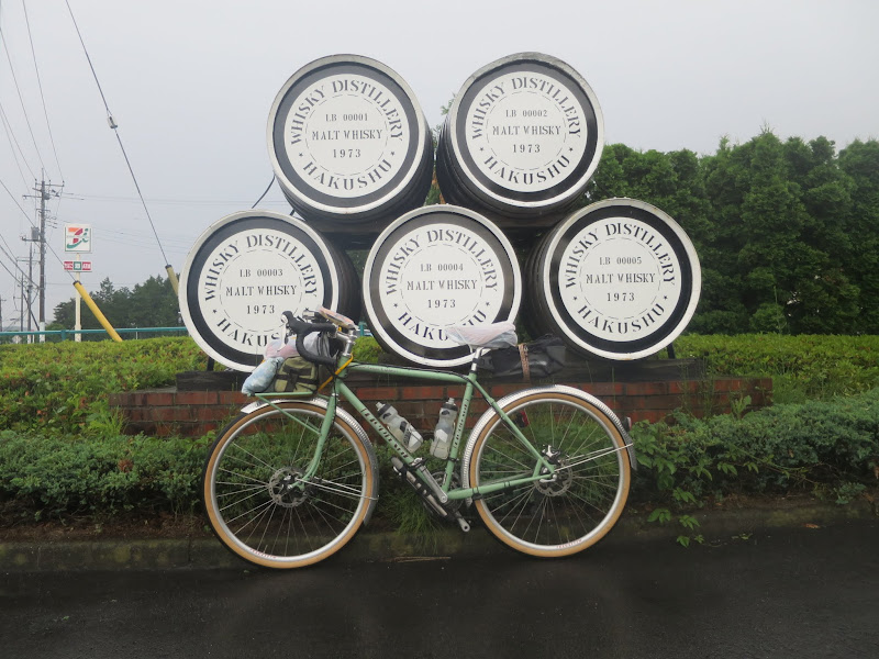 Passing a whisky distillery