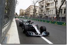 Lewis Hamilton vince il gran premio dell'Azerbaigian 2018