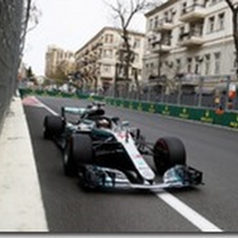 GP dell'Azerbaigian: Hamilton vince la gara delle safety car