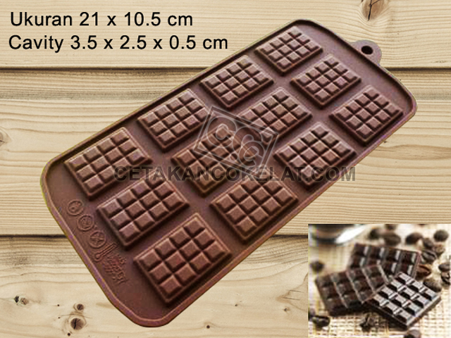 cetakan coklat cokelat SIL061 SIL61 Chocobar