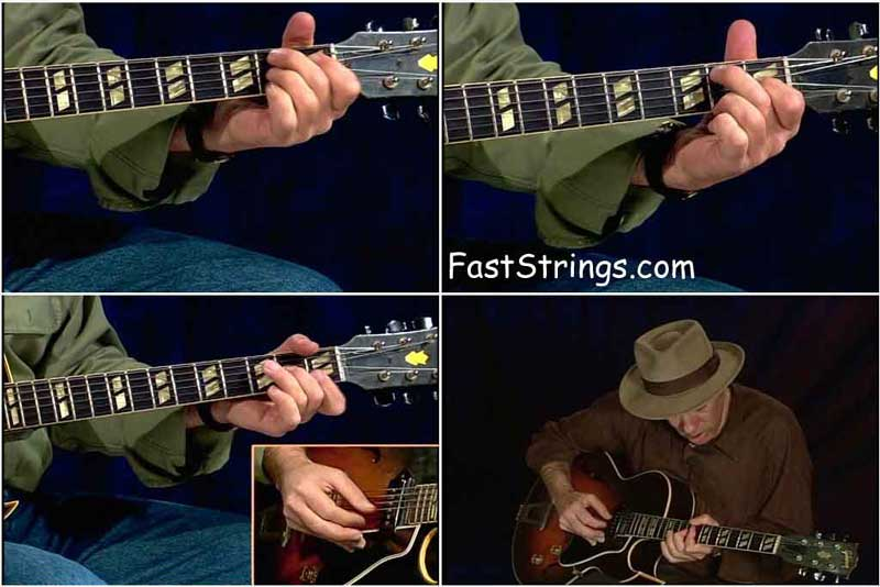 Fred Sokolow - Jazz Chord Solos For Beginners