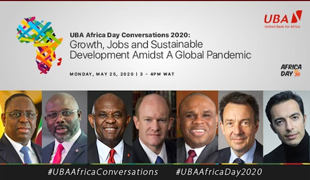Post Covid19: Global Leaders at UBA Africa Day Conversations Seek Path To Economic Recovery~NEWSEXTRA