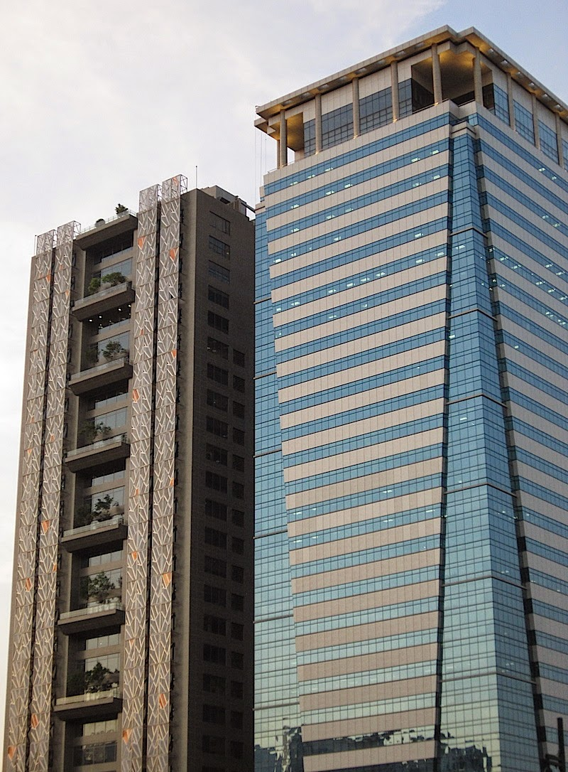 two buildings in Bonifacio Global City