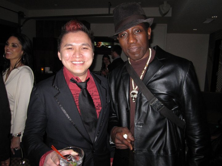 Jt Tran Pua And Wesley Snipes, Asian Playboy