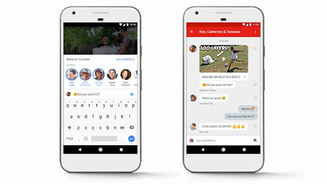 YouTube Has Launched In-app Messaging Service