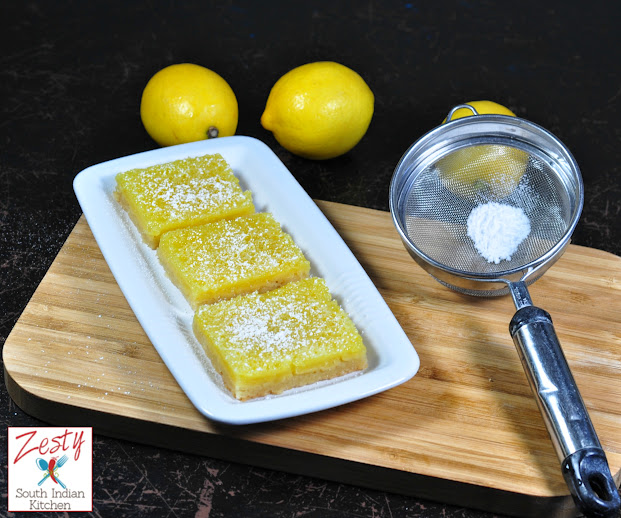 Lemon Bars for Baking Partners challenge