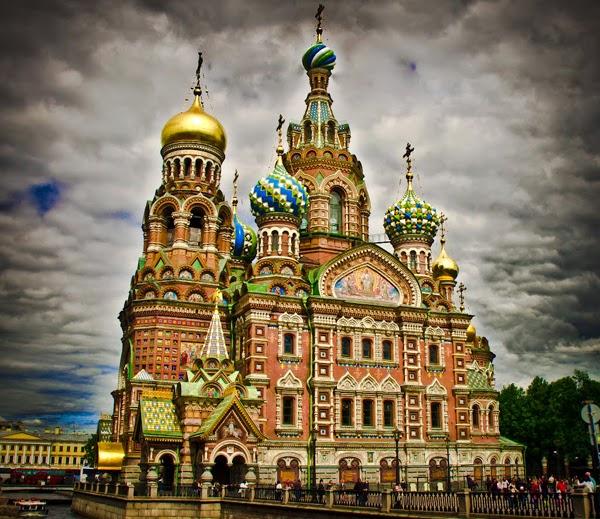 Iglesia del Salvador sobre la Sangre Derramada - San Petersburgo