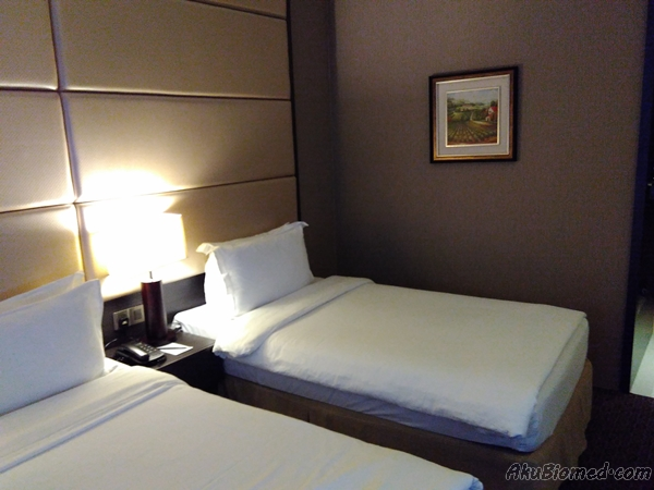 katil bilik deluxe room